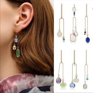 Jewelry - 🎁🎄⛄️Jeweled Drop Earrings